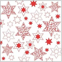 ORNAMENTS IN STARS red, Ambiente