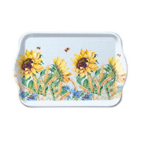 Tray SUNFLOWER AND WHEAT blue 13x21, Ambiente