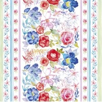 WATERCOLOUR FLORAL PATTERN