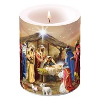 NATIVITY COLLAGE, Ambiente