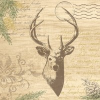 MY DEER papier 33x33 / 50 ks , DUNI