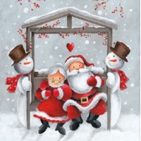 MR. AND MRS. CLAUS, Ambiente