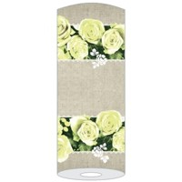 LOVELY ROSES gelb 40cm x 24m Linclass, Mank
