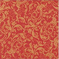 ARABESQUE red-gold, Home Fashion