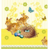 BUNNIES NEST yellow, Ambiente